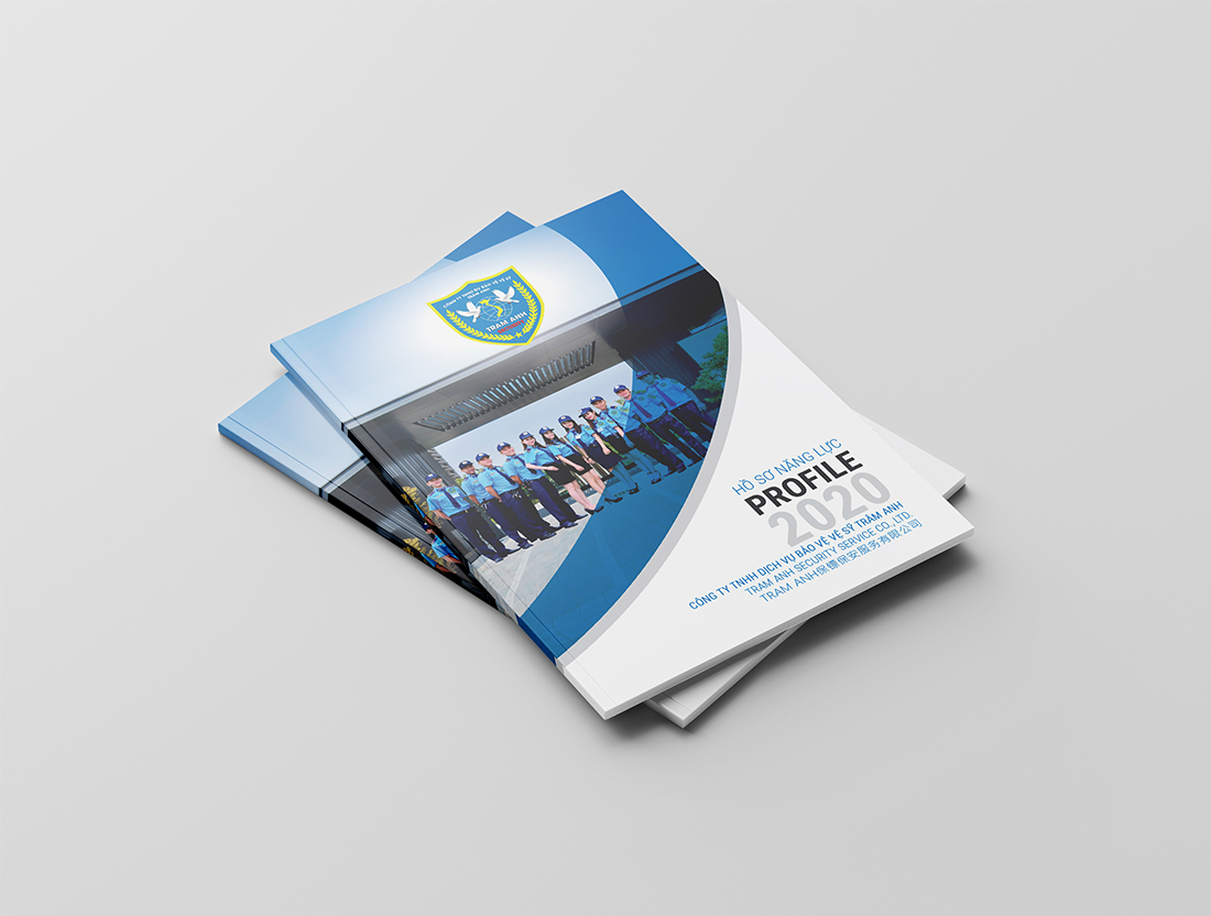 Bìa hồ sơ năng lực công ty bảo vệ