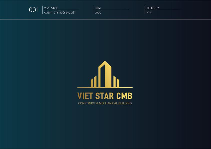 Logo - Bộ nhận diện thương hiệu xây dựng Việt Star