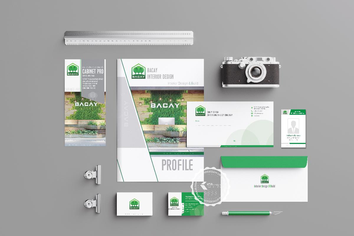 Thiết kế bộ nhận diện thương hiệu BACAY