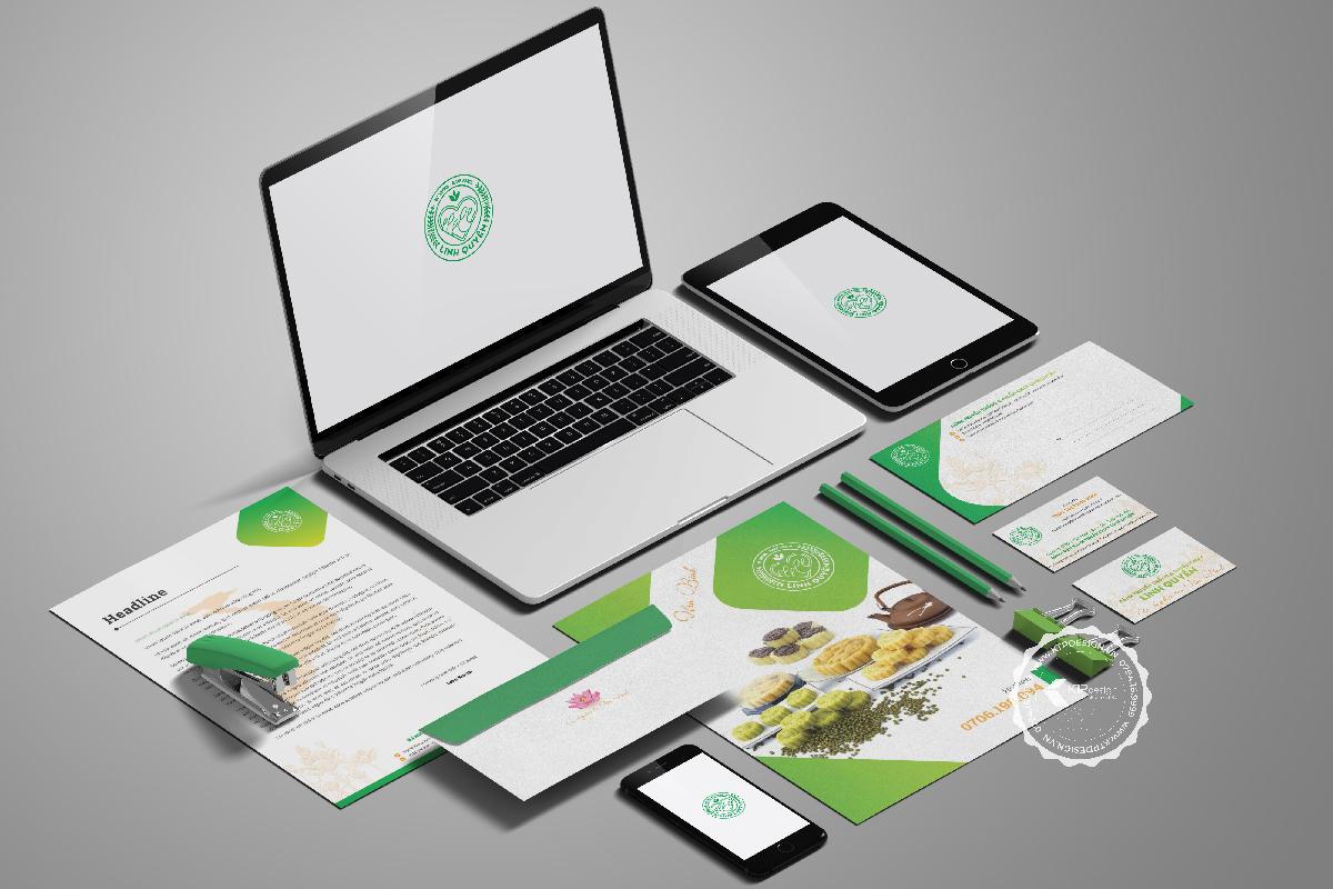Thiết kế bộ nhận diện thương hiệu Linh Quyên