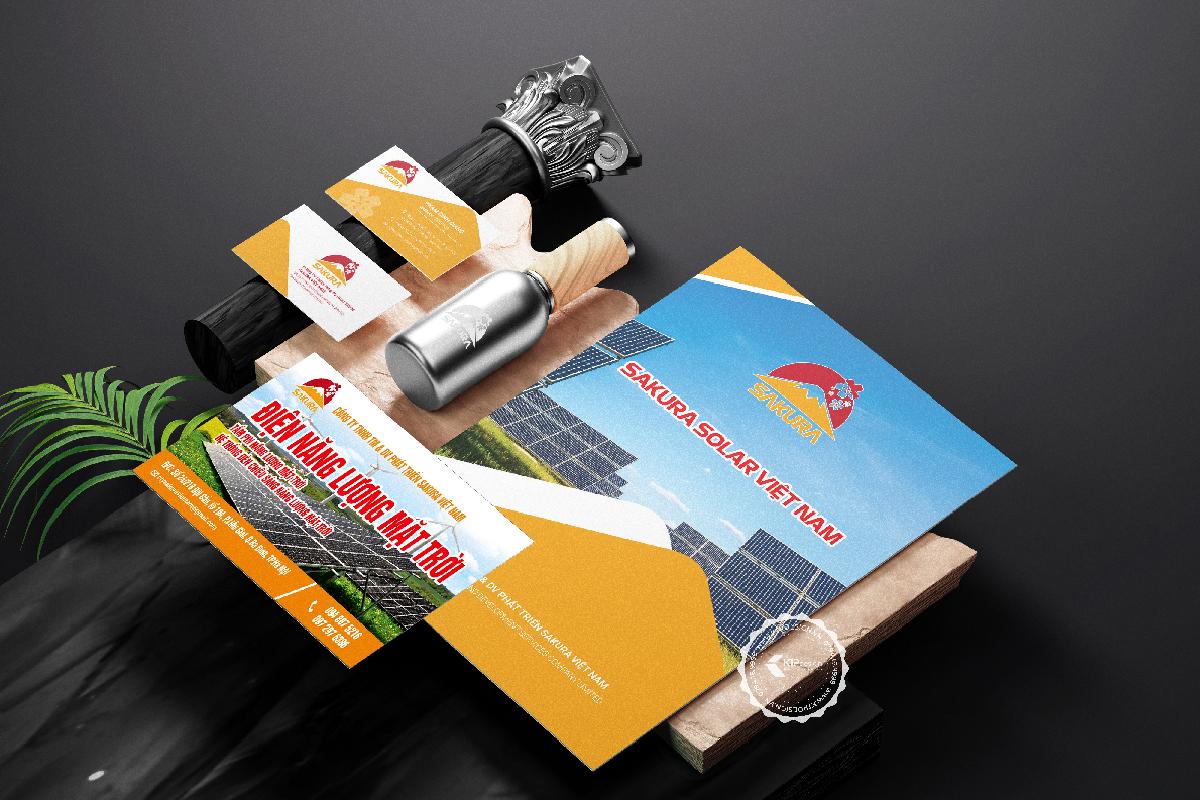 Thiết kế bộ nhận diện thương hiệu SAKURA