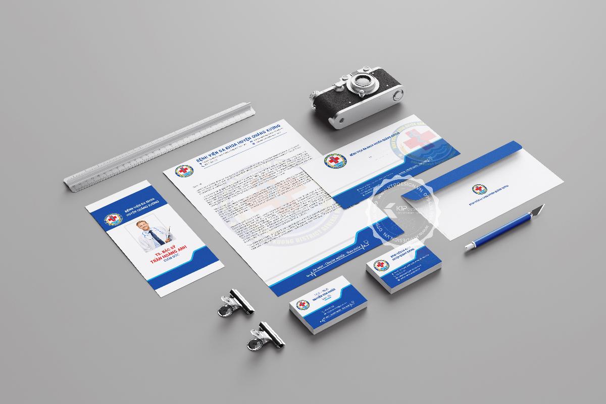 Thiết kế bộ nhận diện thương hiệu bệnh viện Quảng Xương