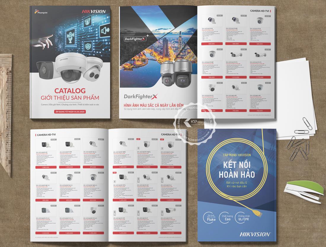 Thiết kế Catalogue sản phẩm giá rẻ