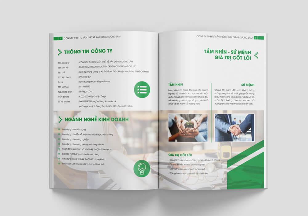 Thông tin doanh nghiệp xây dựng