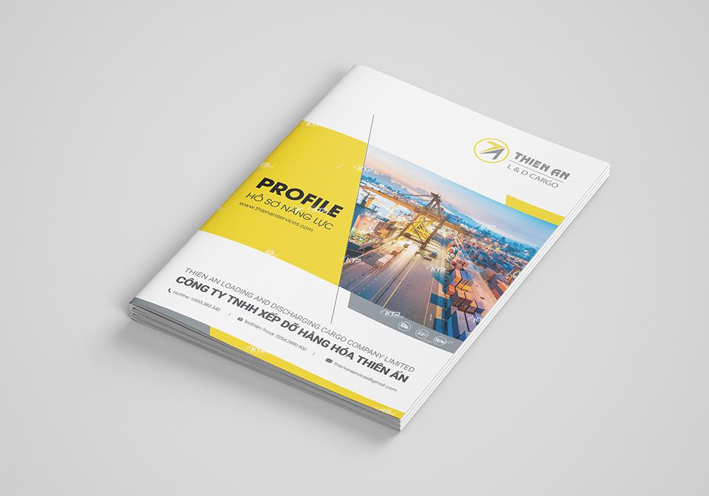 bìa hồ sơ năng lực công ty vận tải